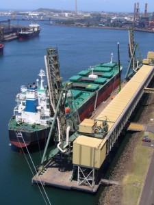 Port Kembla ship